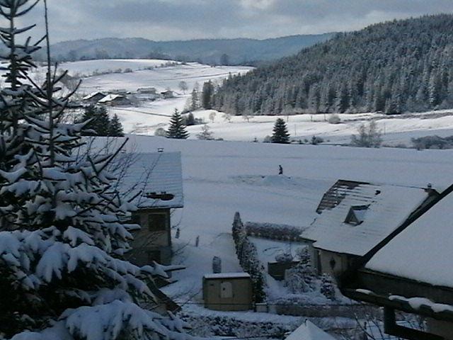 Vista dalla casa vacanze Affitto Agriturismo 74220 Métabief