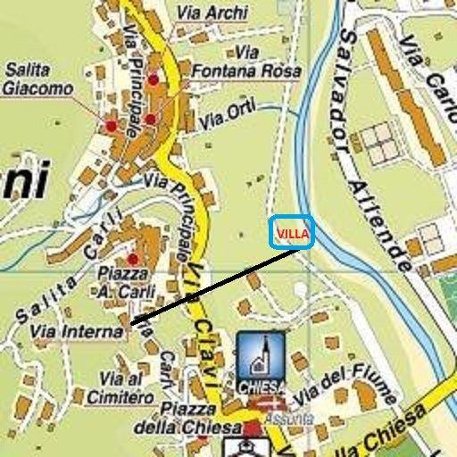 Pianta casa vacanze Affitto Villa  100570 Imperia