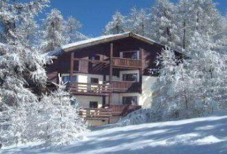 Vista esterna della casa vacanze Affitto Monolocale 66912 Les Orres