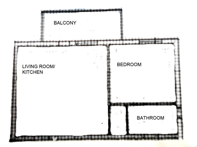Pianta casa vacanze Affitto Appartamento 69665 Sirmione