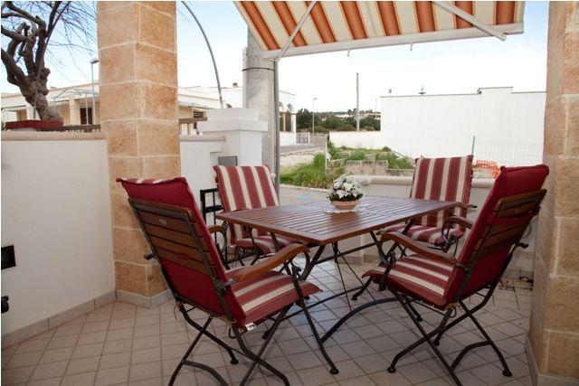 Vista dal balcone Affitto Casa 75666 Torre Vado