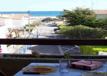 Vista dal balcone Affitto Monolocale 10498 Saint Pierre la Mer