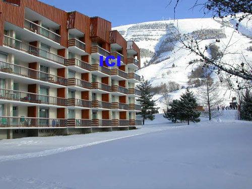 Vista esterna della casa vacanze Affitto Monolocale 1170 Les 2 Alpes