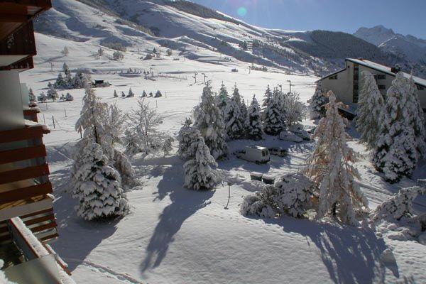 Vista dal balcone Affitto Monolocale 1170 Les 2 Alpes