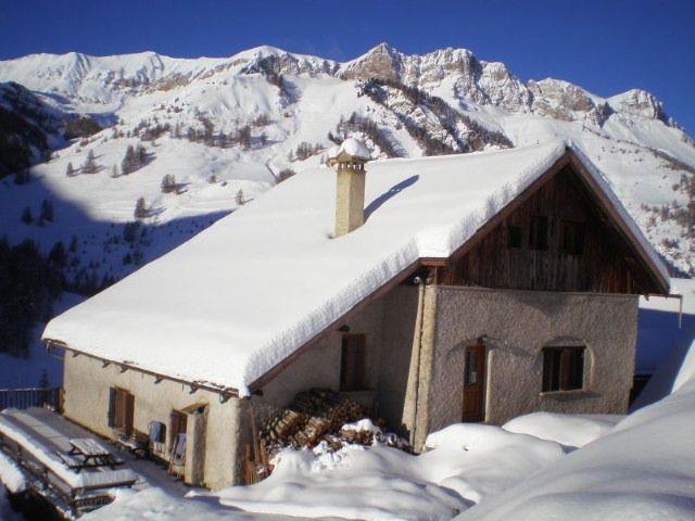 Vista esterna della casa vacanze Affitto Chalet 1575 Molines Saint-Véran