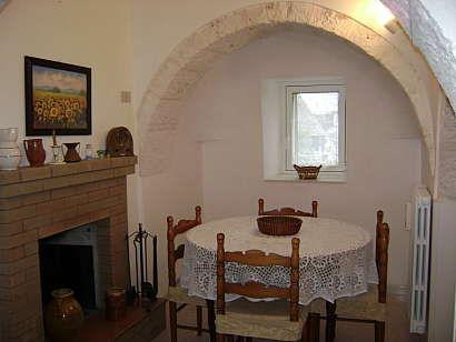 Sala da pranzo Affitto Chalet 16444 Alberobello