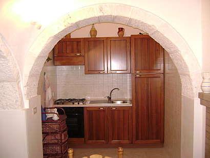 Angolo cottura Affitto Chalet 16444 Alberobello
