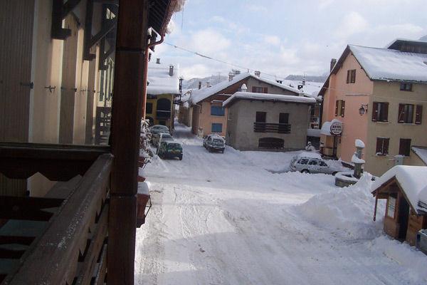 Vista dal balcone Affitto Casa 16964 Monginevro