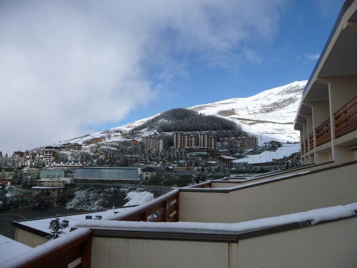 Vista dalla casa vacanze Affitto Appartamento 2053 Orcières Merlette