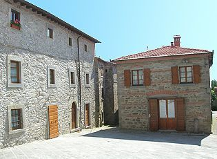 Vista esterna della casa vacanze Affitto Appartamento 20811 Arezzo