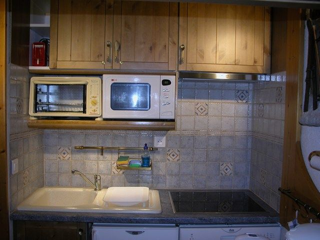 Cucina all'americana Affitto Monolocale 211 Les Arcs