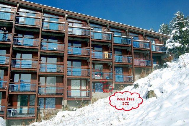 Vista esterna della casa vacanze Affitto Monolocale 211 Les Arcs
