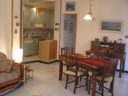 Sala da pranzo Affitto Appartamento 21472 Bonassola