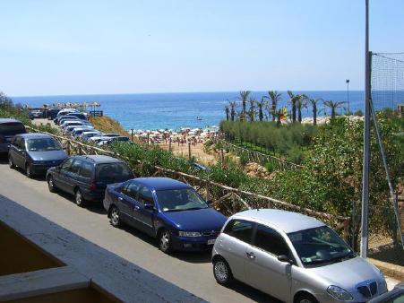 Vista dal balcone Affitto Appartamento 24518 Le Castella