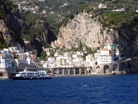 Vista esterna della casa vacanze Affitto Casa 24852 Amalfi