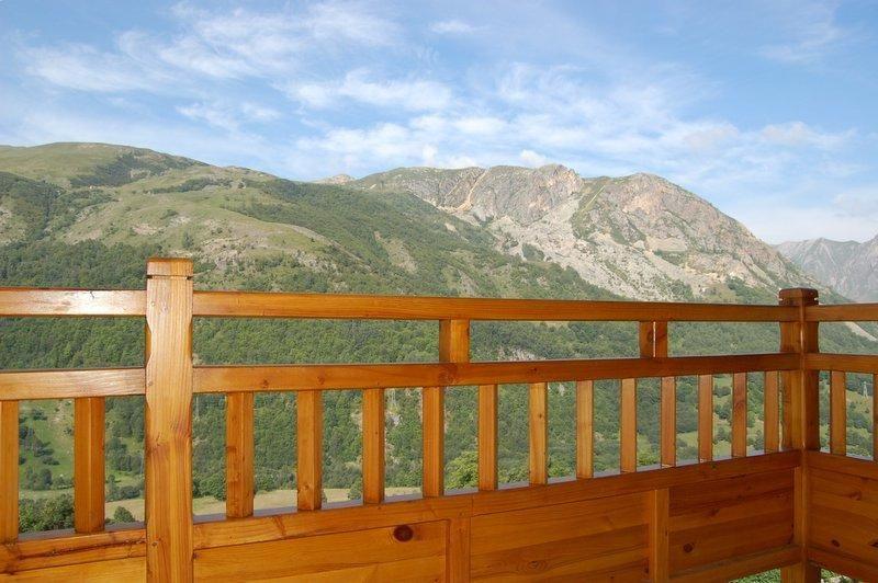Vista dal balcone Affitto Chalet 2665 Saint Martin de Belleville