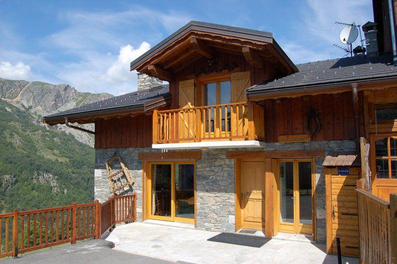 Vista esterna della casa vacanze Affitto Chalet 2665 Saint Martin de Belleville