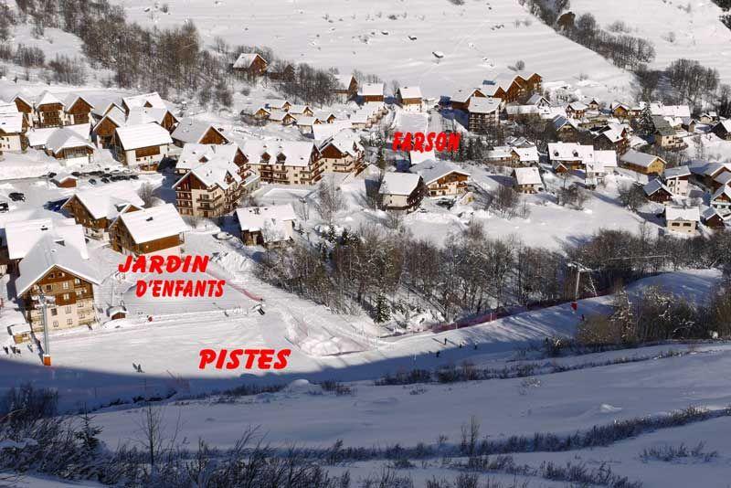 Pianta casa vacanze Affitto Chalet 2686 Saint Sorlin d'Arves