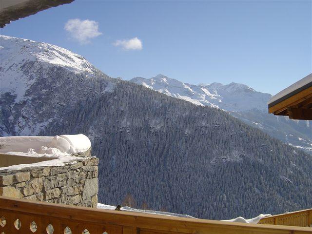 Vista dal balcone Affitto Appartamento 27102 La Rosière 1850