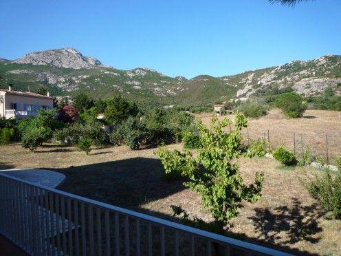 Vista dal terrazzo Affitto Villa  28209 Calvi