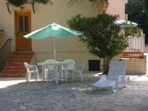 Vista esterna della casa vacanze Affitto Villa  28209 Calvi