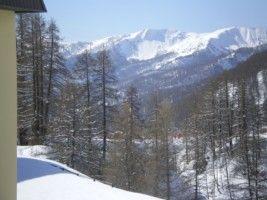 Vista dalla casa vacanze Affitto Appartamento 31691 Val d'Allos