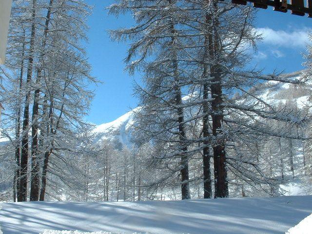 Vista dalla casa vacanze Affitto Monolocale 3194 Val d'Allos