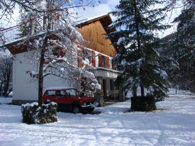Vista esterna della casa vacanze Affitto Chalet 3208 Val d'Allos