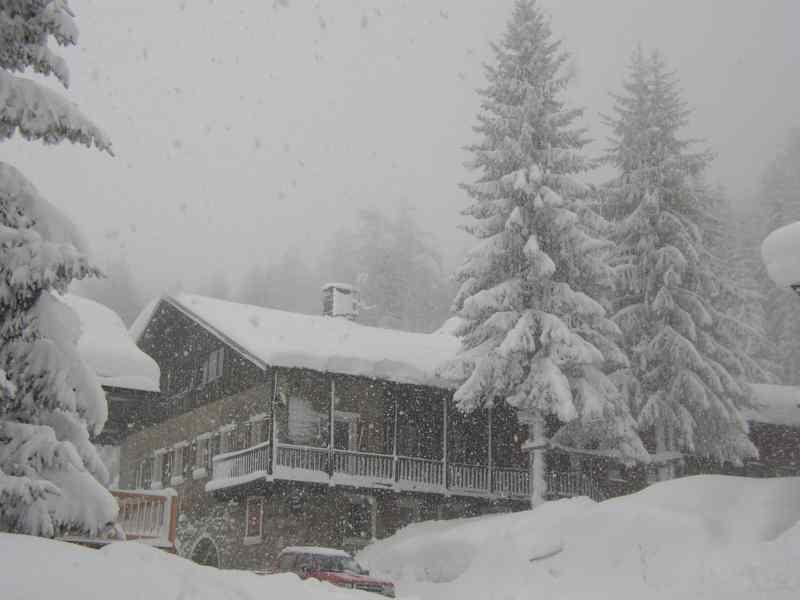 Vista esterna della casa vacanze Affitto Chalet 322 Les Arcs