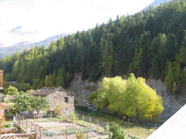 Vista dal balcone Affitto Appartamento 3259 Val Cenis