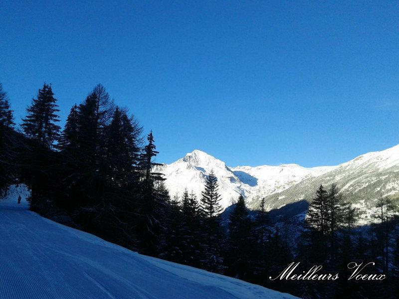 Vista dalla casa vacanze Affitto Appartamento 3259 Val Cenis