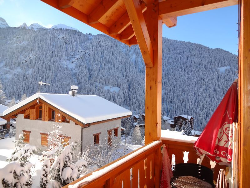 Vista dal balcone Affitto Chalet 3290 Valfréjus