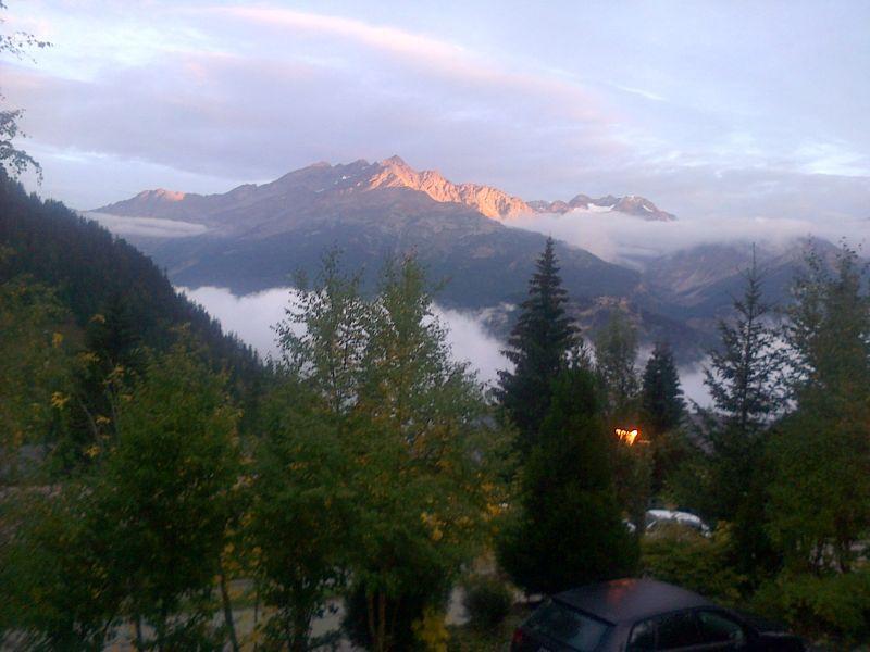 Vista dalla casa vacanze Affitto Chalet 3290 Valfréjus