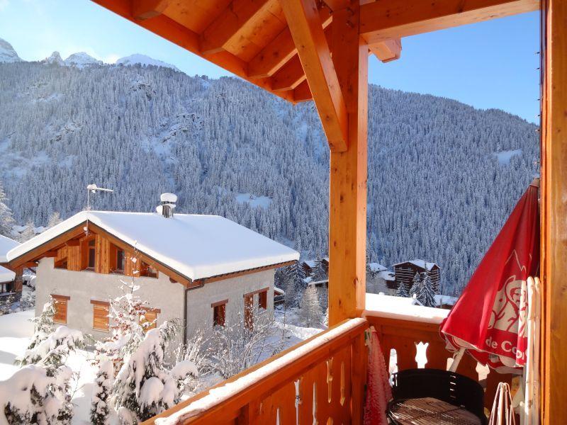 Vista dalla casa vacanze Affitto Chalet 3297 Valfréjus
