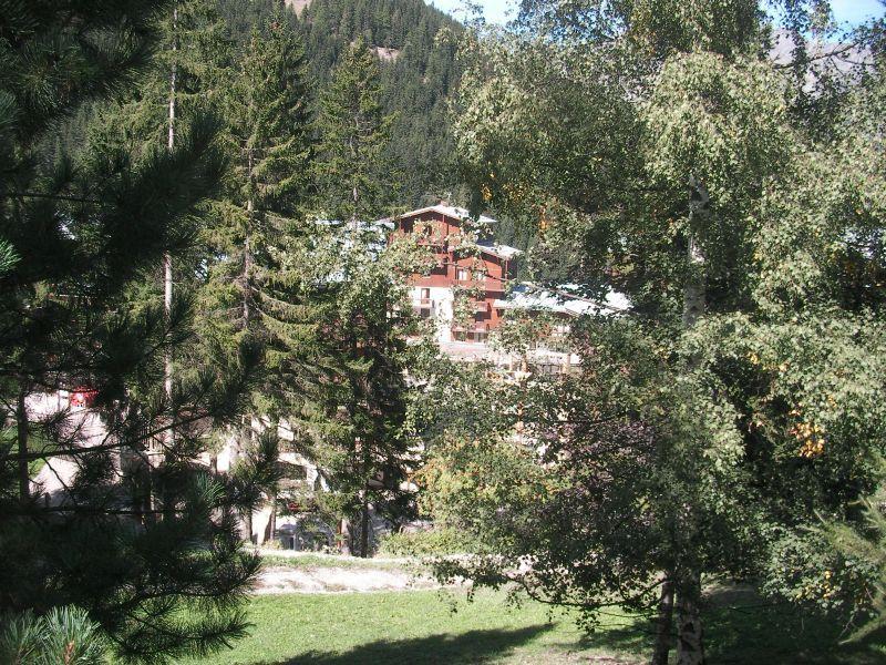Vista dalla casa vacanze Affitto Chalet 3300 Valfréjus