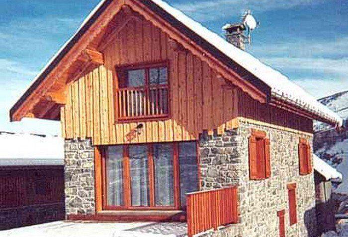 Vista esterna della casa vacanze Affitto Chalet 3373 Valloire
