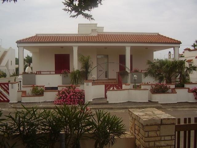 Vista esterna della casa vacanze Affitto Villa  33763 Gallipoli