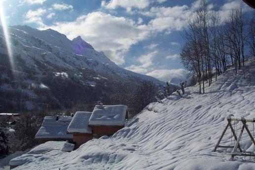 Vista dalla casa vacanze Affitto Appartamento 3399 Valloire