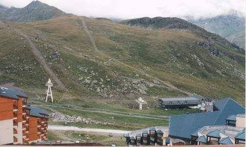 Vista dal balcone Affitto Monolocale 3517 Val Thorens