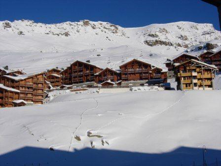 Vista dalla casa vacanze Affitto Appartamento 3527 Val Thorens