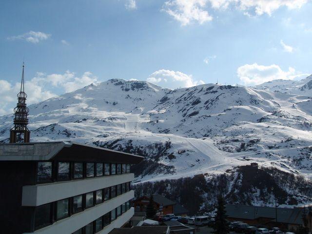 Vista dal balcone Affitto Appartamento 37394 Les Menuires