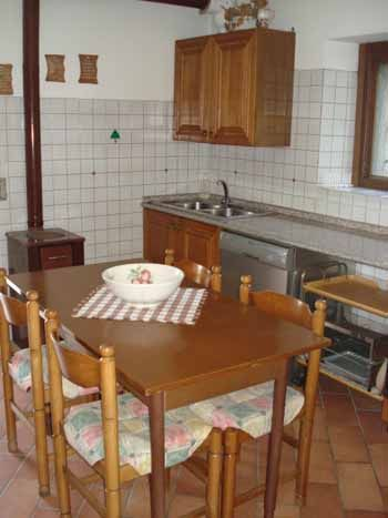 Cucina separata Affitto Villa  38515 Iseo