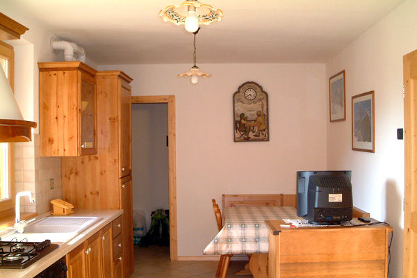 Cucina separata Affitto Appartamento 39767 Folgarida
