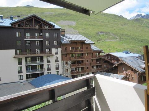 Vista dal balcone Affitto Appartamento 39781 Tignes