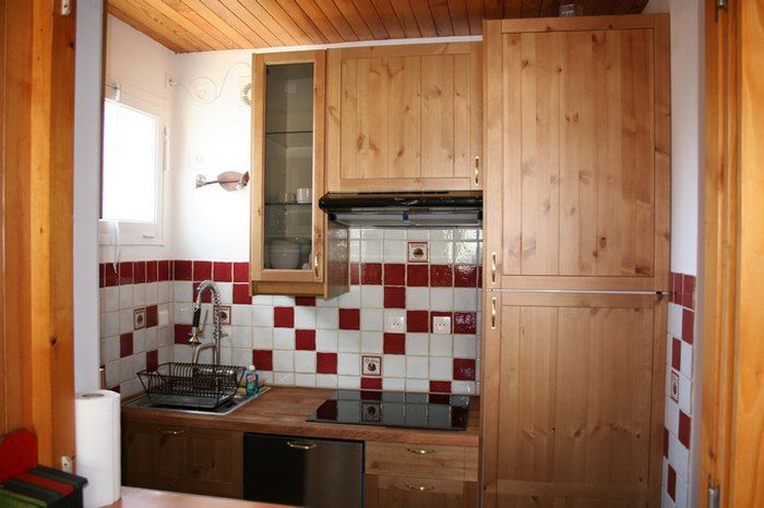 Cucina separata Affitto Appartamento 40002 Orcières Merlette