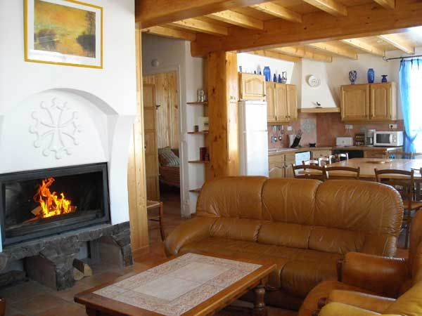 Salotto 1 Affitto Casa 4013 Formiguères