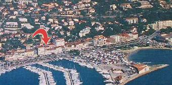 Pianta casa vacanze Affitto Monolocale 40335 Bandol