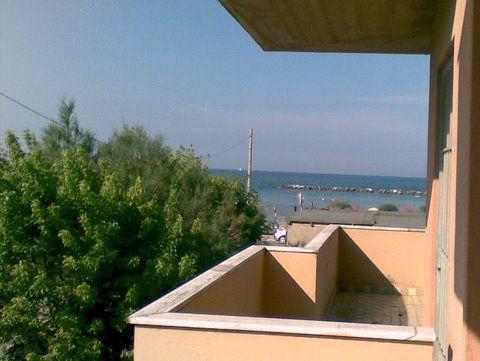 Vista dal terrazzo Affitto Appartamento 40527 Rimini