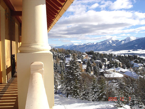 Vista esterna della casa vacanze Affitto Appartamento 4136 Font Romeu