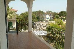 Vista dal terrazzo Affitto Villa  42663 Alba Adriatica